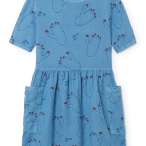 Vestido Footprint Pockets