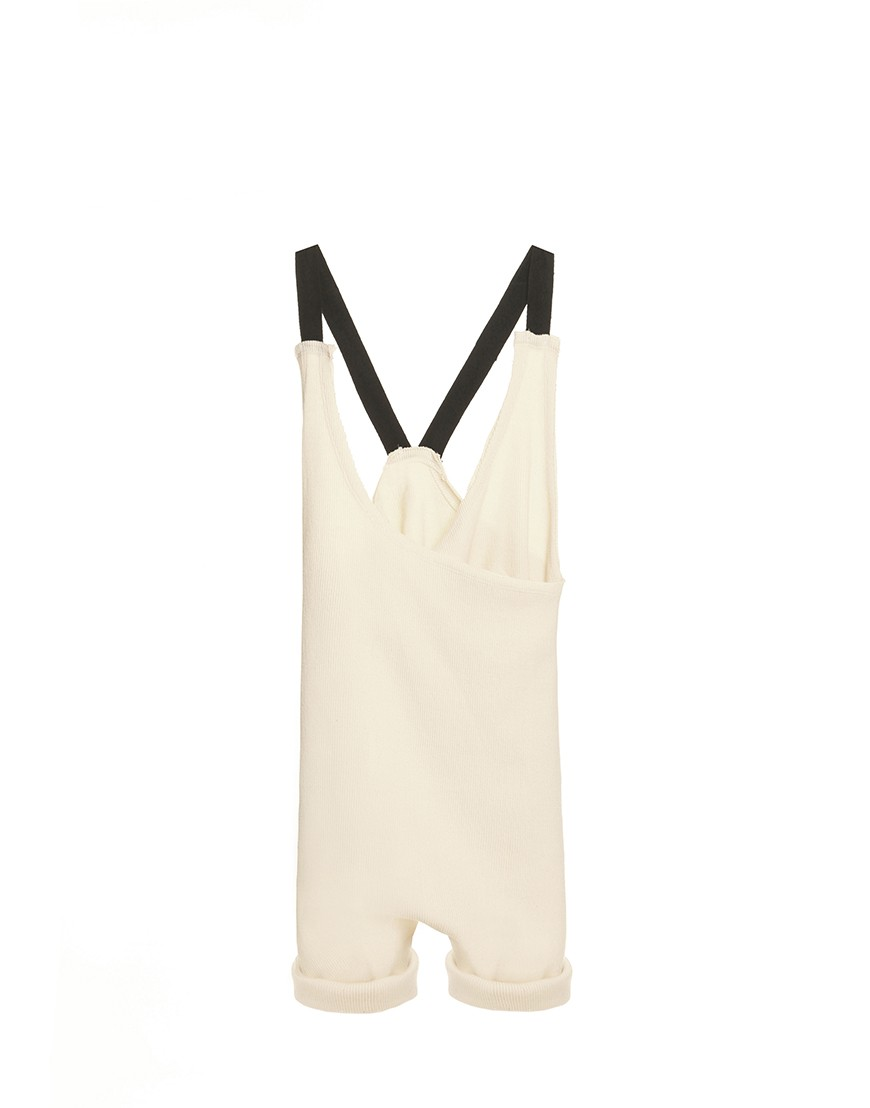 Soft Jumpsuit Wrap Ivory
